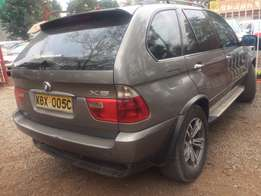 Bmw X5 Diesel Sunroof Leather Interior well maintained car