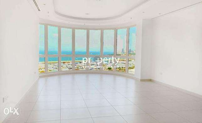 Sea View three bedroom apartment for rent in Shaab, Kuwait