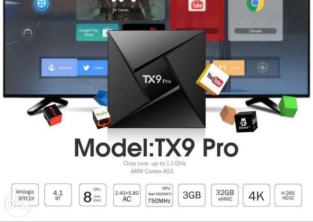 Tanix TX9 Pro 3g+32g Android tv box