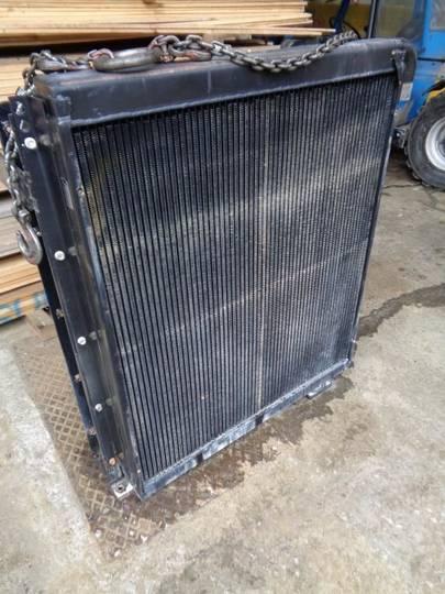 Oil radiator engine oil cooler for excavator