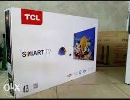 selling TCL 43 inch smart ONE MONTH OLD