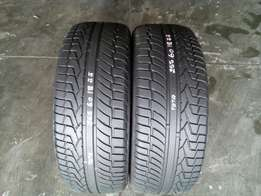 255/60/18 Toyo tyre's for sell