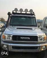 Toyota Land cruiser double cabin pick up model 2013