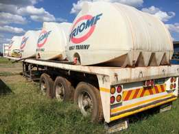 12m Flat bed 3 Axel / 3 As