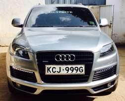 AUDI Q7 S LINE TOP range fully loaded on grand sale 4,999,999/=