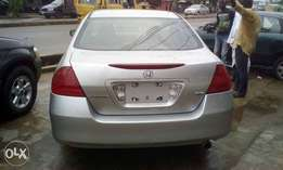 2007 tokunbo Honda accord Discussion continue with very good condition