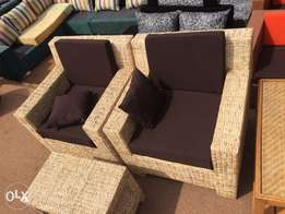 craft reed seats, 5 seater.