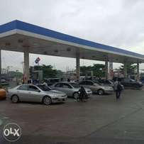Mega fuel station on major express way