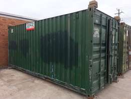 good clean 20 x 8 second hand containers, wind and water tight