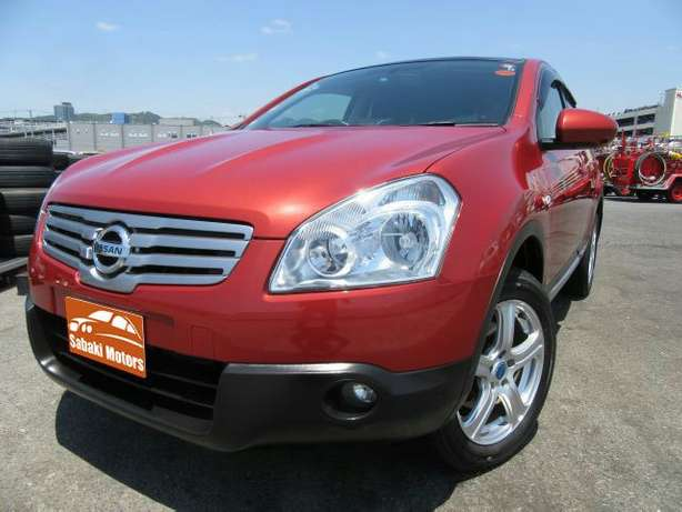 Dualis Red fully loaded with alloy wheels and fog lights Mombasa Island - image 2