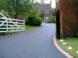 Tar surfaces /domestic & industrial driveways, roads & parking areas.
