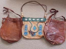 Handcrafted genuine leather handbags