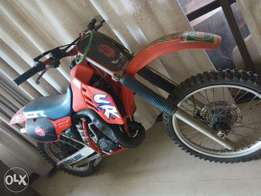 Honda CR 125 Competition Dirtbike