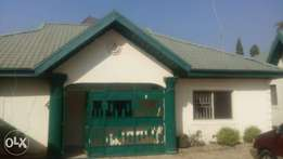 A tastefully finished 3bedroom bungalow in Lugbe Plaza