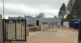 Offices and Yard to Let - Laezonia, Centurion - near N14