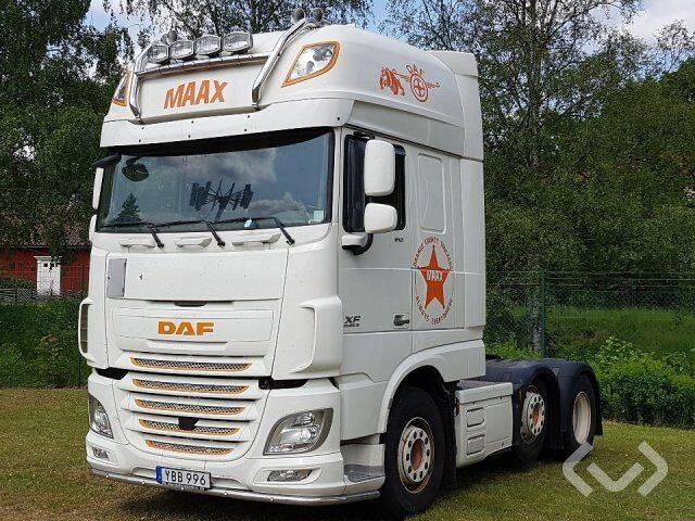 DAF FTG XF510Z (Euro6) 6x2 Tractor (pusher) - 16 - 2016