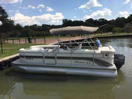 Great deal on an awesome pontoon, 21 ft Premier with 90 Yamaha 4 strok
