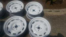 Widened Steelies 14 inch 4x100