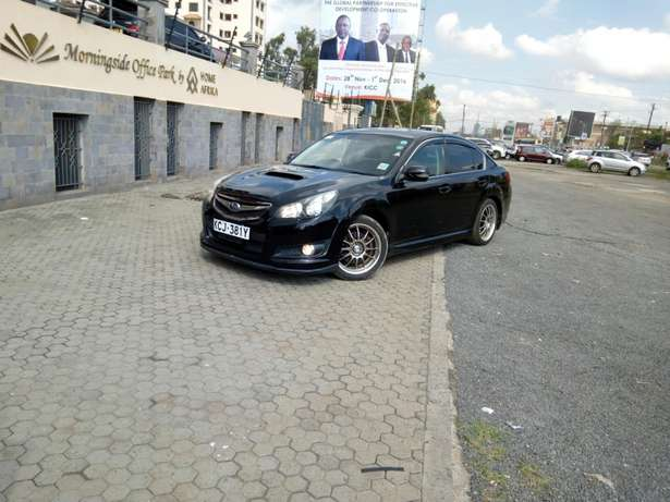 Subaru legacy sti turbo black ,2009 model, 2.5cc Hurlingham - image 2