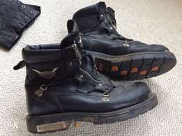 Harley boots uk10.5