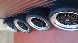"17"" BBS Narrow & Wides Mags and Tyres R5500"