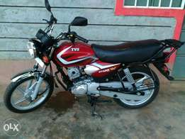 TVS HLX 125 clean n privately used