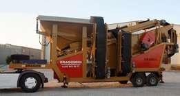 The only brand in the world,-Mobile Screening Plants Dragon 609