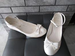 9b3359d2 Buty ślubne ecru Mark Shoes r 40