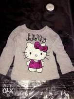 Long sleeve top for baby girls(12M)
