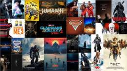 Soft and Hard Copy HD Movies plus Softwares on sale