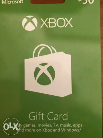 Xbox gift card $50