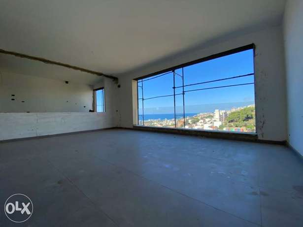 A 130 sqm apartment with sea and mountain view for sale in Naccach