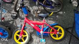 Ex uk Kids bikes