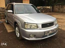 Subaru Forester/2003/2000cc/Alloy Rims/KBM REG/Price 780,000/=