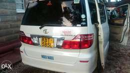 Toyota Alphard its a deal car