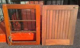 For sale stable door plus frame