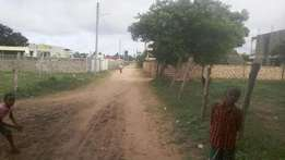 50 by 100 plots for sale behind Tusky mall 4.5 M