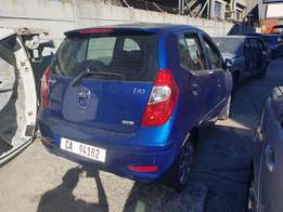 Hyundai i10as seen in the photos. Car has low mileage.