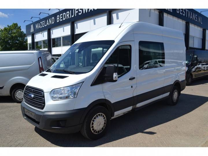 Ford Transit 330 2.2 TDCI 125PK L3H3 - Dubbele Cabine - Airco _ - 2014