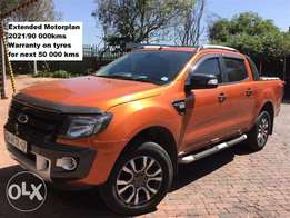 2013 Ford Ranger WILDTRACK 3.2 tdci 4x4 Auto double cab