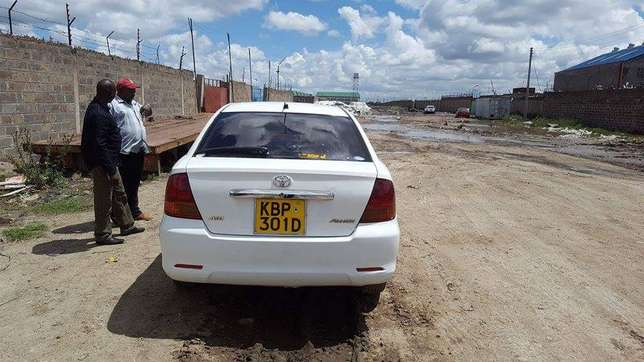 White KBP Allion well maintained on quick sell Nairobi CBD - image 1