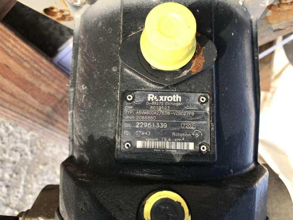 Bosch Rexroth hydraulic motor for TEREX Shaeff SKL833 wheel loader