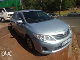 2013 Toyota Corrola 1.4 Profesional. This vehicle is still like new