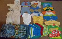 Baby boys cloths 3 - 6 months 84 Items all for R900
