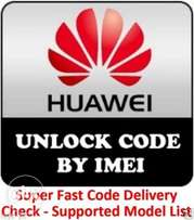 Unlock Code Pin Fast Unlocking Any Carrier Huawei 3G/4G Modem & Router