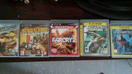 PlayStation 3 320gig with 11 games