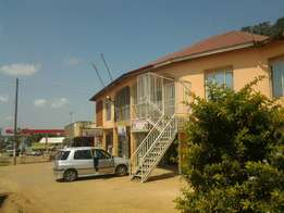 A commercial building for sale at Seeta town