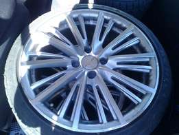 """17"""" TURN Mags with new low profile achilles tires."""
