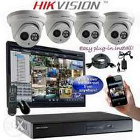Hikvision cctv camera Full package