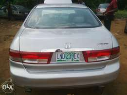 2 months used Honda Accord (EOD) very clean. V6 Engine